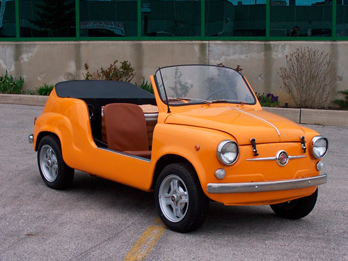 1959 Fiat 600 Jolly replica
